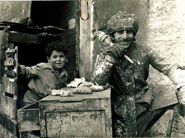 Ele D'Artagnan with Pietro Gallina as a child